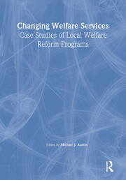 Changing Welfare Services - 1st Edition book cover