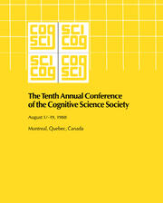 10th Annual Conference Cognitive Science Society Pod - 1st Edition book cover