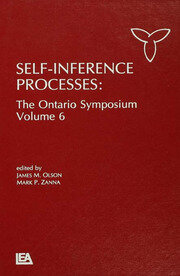 Self-Inference Processes - 1st Edition book cover