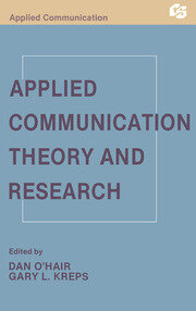 Applied Communication Theory and Research - 1st Edition book cover