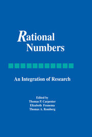 Rational Numbers - 1st Edition book cover