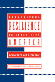 Educational Resilience in inner-city America - 1st Edition book cover