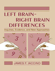 Left Brain - Right Brain Differences - 1st Edition book cover