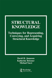 Structural Knowledge - 1st Edition book cover