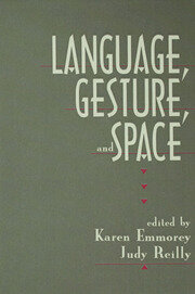 Language, Gesture, and Space - 1st Edition book cover