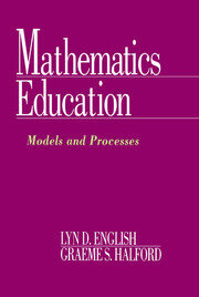 Mathematics Education - 1st Edition book cover