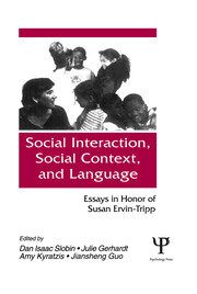 Social interaction, Social Context, and Language - 1st Edition book cover