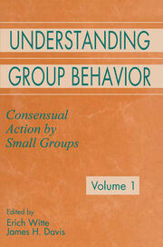 Understanding Group Behavior - 1st Edition book cover