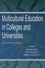 Multicultural Education in Colleges and Universities : A Transdisciplinary Approach - 1st Edition book cover