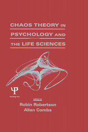 Chaos theory in Psychology and the Life Sciences - 1st Edition book cover