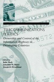 Telecommunications Politics - 1st Edition book cover