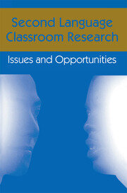 Second Language Classroom Research - 1st Edition book cover