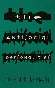 The Antisocial Personalities - 1st Edition book cover