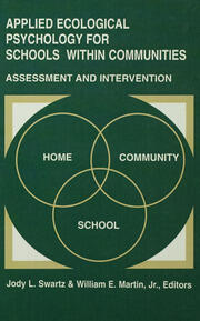 Applied Ecological Psychology for Schools Within Communities - 1st Edition book cover