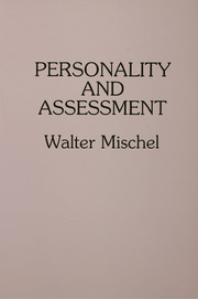 Personality and Assessment - 1st Edition book cover