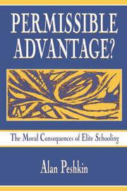 Permissible Advantage? - 1st Edition book cover