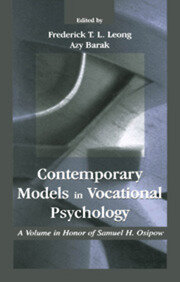 Contemporary Models in Vocational Psychology - 1st Edition book cover