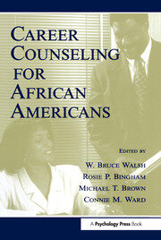 Career Counseling for African Americans - 1st Edition book cover
