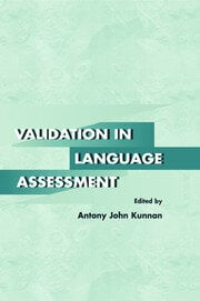 Validation in Language Assessment - 1st Edition book cover