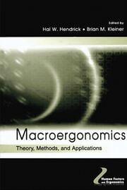 Macroergonomics - 1st Edition book cover