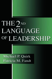 The 2nd Language of Leadership - 1st Edition book cover