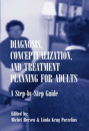 Diagnosis, Conceptualization, and Treatment Planning for Adults - 1st Edition book cover