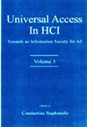 Universal Access in HCI - 1st Edition book cover