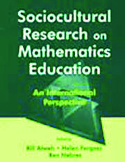 Sociocultural Research on Mathematics Education - 1st Edition book cover