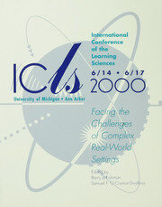 International Conference of the Learning Sciences - 1st Edition book cover