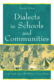 Dialects in Schools and Communities - 2nd Edition book cover