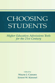 Choosing Students - 1st Edition book cover