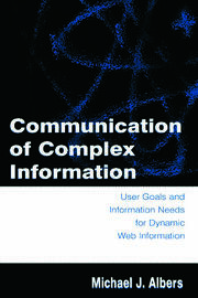 Communication of Complex Information - 1st Edition book cover
