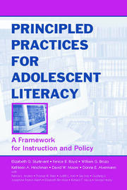 Principled Practices for Adolescent Literacy - 1st Edition book cover