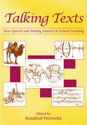 Talking Texts - 1st Edition book cover
