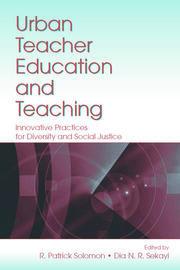 Urban Teacher Education and Teaching - 1st Edition book cover