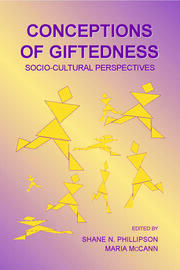 Conceptions of Giftedness - 1st Edition book cover