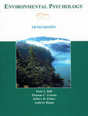 Environmental Psychology - 5th Edition book cover