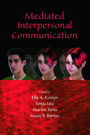 Mediated Interpersonal Communication - 1st Edition book cover
