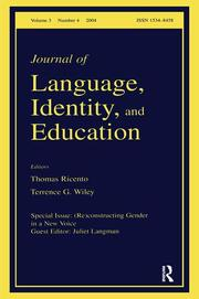 (Re)constructing Gender in a New Voice - 1st Edition book cover