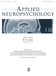 Sports Medicine and Neuropsychology - 1st Edition book cover