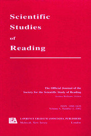 Reading Development in Adults - 1st Edition book cover
