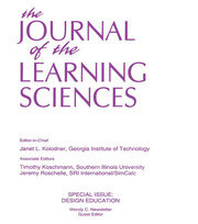 Design Education : A Special Issue of the Journal of the Learning Sciences - 1st Edition book cover
