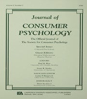 Cultural Psychology : A Special Issue of the journal of Consumer Psychology - 1st Edition book cover