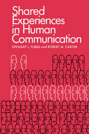 Shared Experiences in Human Communication - 1st Edition book cover