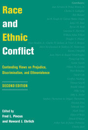 Race And Ethnic Conflict - 1st Edition book cover