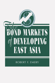 The Bond Markets Of Developing East Asia - 1st Edition book cover
