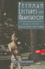 Feynman Lectures On Gravitation - 1st Edition book cover