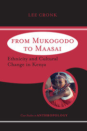 From Mukogodo to Maasai - 1st Edition book cover