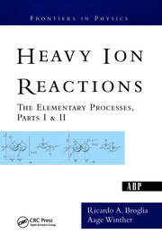 Heavy Ion Reactions - 1st Edition book cover