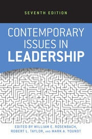 Contemporary Issues in Leadership - 2nd Edition book cover